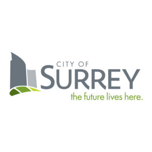 logo: City of Surrey: the future lives here (https://www.surrey.ca)